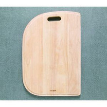"Hamat 13 1/2"" x 19 3/4"" x 3/4"" Cutting Board for & Sink - Hardwood"
