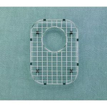 "Hamat  9 5/8"" x 13 1/8"" Bottom Grid / Wire Grate for Sink - Stainless Steel"