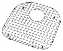 "Hamat  15 3/4"" x 16 1/2"" Bottom Grid / Wire Grate for Sink - Stainless Steel"