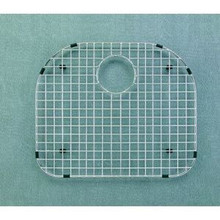 "Hamat  19 1/8"" x 17 1/4"" Bottom Grid / Wire Grate for Sink - Stainless Steel"