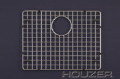 "Hamat  20 1/2"" x 15 1/2"" Bottom Grid / Wire Grate for Sink - Stainless Steel"