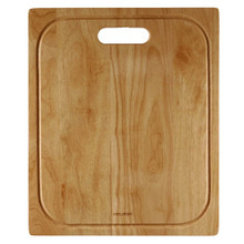 "Hamat 14 3/4"" x 17 3/4"" x 1 Cutting Board for Sink - Hardwood"