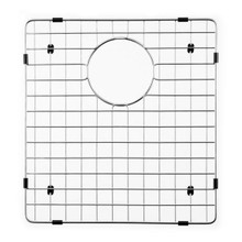 "Hamat  14 5/8"" x 15 1/2"" Bottom Grid / Wire Grate for Sink - Grid & Strainer - Stainless Steel"
