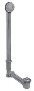 Mountain Plumbing HBDWLT22 BRN Lift & Turn Bath Waste & Overflow Kit - Brushed Nickel