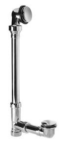 Mountain Plumbing BDSCFT22 SC Claw Foot Bath Waste/Overflow Kit - Satin Chrome