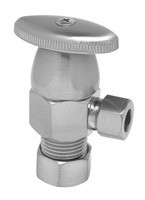 Mountain Plumbing MT6003-NL/ORB Oval Handle Angle Valve -  Oil Rubbed Bronze