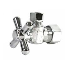 Mountain Plumbing MT621-NL/PVD BB Mini Cross Handle Angle Valve -  PVD Brushed Bronze