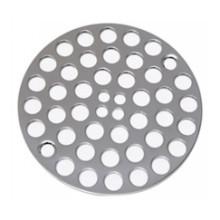 Mountain Plumbing MT238 TB Grid Shower Drain - Tuscan Brass