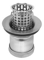 Mountain Plumbing MT710 BRN Bar Sink Strainer - Brushed Nickel