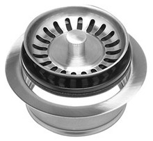 Mountain Plumbing MT200EV CPB Waste Disposer Flange + Stopper Strainer - Polished Chrome