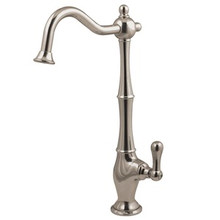 Kingston Brass Low-Lead Cold Water Filtration Filtering Faucet - Satin Nickel