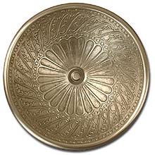"Linkasink B005 AB 17"" Bronze Wing Bowl Vessel or Drop in Sink - Antique Bronze"