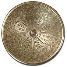 "Linkasink B005 WB 17"" Bronze Wing Bowl Vessel or Drop in Sink - White Bronze"