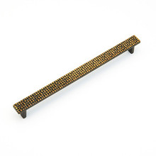 "Schaub 233-FAB Mosaic Door Pull 320 mm (12.59"") cc - French Antique Bronze"
