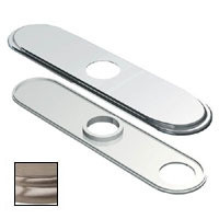 "Danze D493172BN 8"" Deck Cover Plate - Brushed Nickel"
