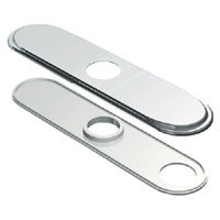 "Danze D493172 8"" Deck Cover Plate - Chrome"