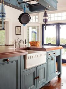 "Fine Fixtures FC3018HA Hamwick English Design Fireclay Apron Kitchen Sink - White - 28 3/4"" x 19 1/2"""