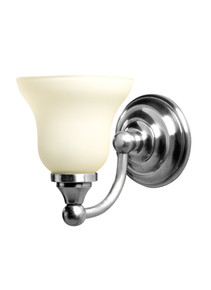 Valsan 30968NI Kingston Bathroom Single Wall Light - Polished Nickel