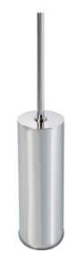 Valsan 53597NI Essentials Wall Mounted Toilet Brush Holder - Polished Nickel