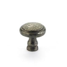 """Schaub 131-DP Artifex Britannium Door Knob Round 1-3/8"""" Diam - Dark Pewter"""