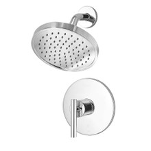 Price Pfister LG89-7NCC Contempra Shower Faucet Trim with Single Function Rain Shower Head - Polished Chrome