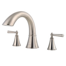 Price Pfister RT6-5GLK Saxton Deck Mounted Roman Tub Faucet - Brushed Nickel