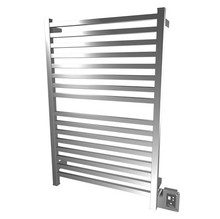 "Amba Quadro Q-2842-P 28"" W x 42"" H Towel Warmer and Space Heater - Polished Stainless"