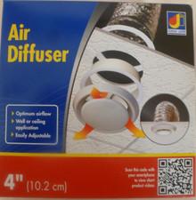 "Dundas Jafine DF6WZW 6"" Air Diffuser for Optimum Air Flow"