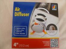 "Dundas Jafine DF4WZW 4"" Air Diffuser for Optimum Air Flow"