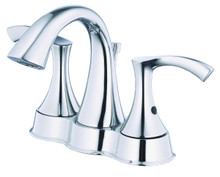 Danze D301122 Antioch Two Handle Centerset Lavatory Faucet 1.2gpm - Chrome