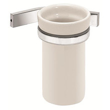 Valsan Sensis Wall Mounted Tumbler Holder - Polished Nickel