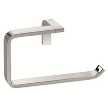 Valsan Sensis PS241CR Flat Curved Open Towel Ring - Chrome