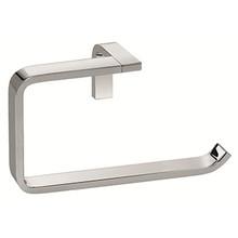 Valsan Sensis Flat Curved Open Towel Ring - Satin Nickel