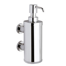 Valsan Montana Contemporary Wall Mount Liquid Soap Dispenser - Chrome