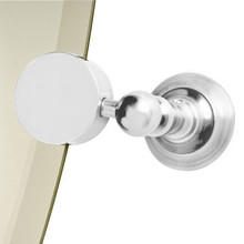 Valsan Kingston Mirror Support - Satin Nickel