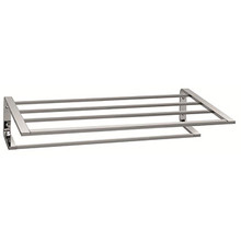 "Valsan Sensis Towel Shelf & Rack / Bar 20 1/2"" - Chrome"