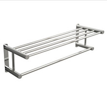 "Valsan Classic M667CR Towel Rack Shelf with Bar 24 1/2"" - Chrome"