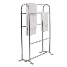 "Valsan Classic M646CR Freestanding Towel Horse Rack 11 1/2"" X 26"" X 35"" - Chrome"