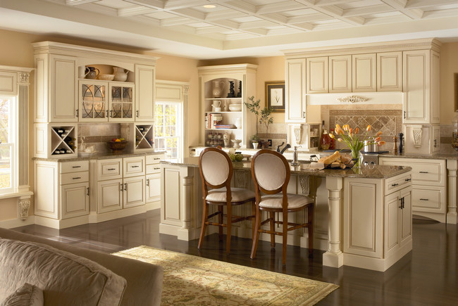 Kraftmaid Kitchen Cabinets Square Raised Panel - Solid (MTM ...