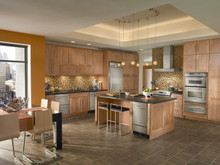 Kraftmaid Kitchen Cabinets -  Forged Metal Insert