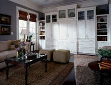 Kraftmaid Kitchen Cabinets -  Square Recessed Panel - Veneer (MP) Maple in Ginger w/Sable Glaze