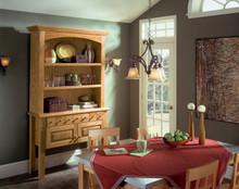 Kraftmaid Kitchen Cabinets -  Square Raised Panel - Solid (WLO) Oak in Autumn Blush