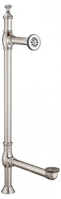 Cheviot  2700-AB Exposed Freestanding Waste & Overflow Tower Drain  - Antique Bronze