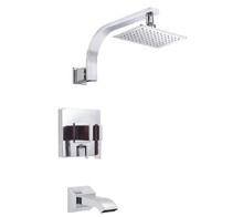 Danze D512044T Sirius Single Handle Tub & Shower Faucet Trim 2.0 Gpm Showerhead - Chrome