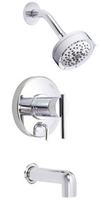 Danze D512058T Parma Single Handle Tub & Shower Faucet Trim 2.0 Gpm Showerhead - Chrome