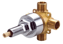 Danze D130000BT 4 Port Shower Diverter Rough Valve 1/2""