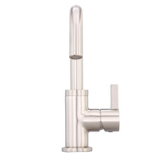 Danze D222530BN Amalfi Single Handle Lavatory Faucet 1.2gpm - Brushed Nickel
