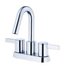 Danze D301130 Amalfi Two Handle Centerset Lavatory Faucet 1.2gpm - Chrome