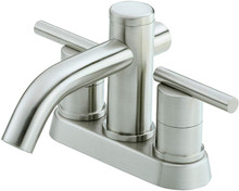 Danze D301158BN Parma Two Handle Centerset Lavatory Faucet 1.2gpm - Brushed Nickel