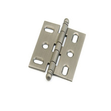 Schaub 1111B-AN Ball Tip Mortise Hinge - Antique Nickel